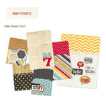 Simple Stories - SNAP Collection - Memorabilia Pockets - 24 Seven