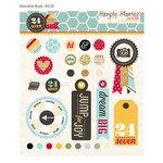 Simple Stories - 24 Seven Collection - Decorative Metal Brads