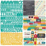 Simple Stories - I Heart Summer Collection - 12 x 12 Cardstock Stickers - Expressions