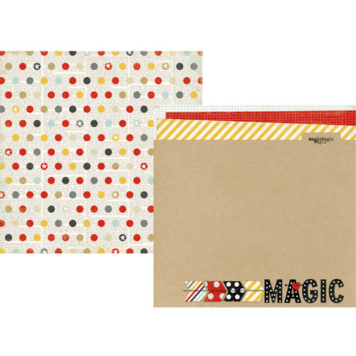Simple Stories - Say Cheese Collection - 12 x 12 Double Sided Paper - Magic
