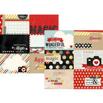 Simple Stories - Say Cheese Collection - 12 x 12 Double Sided Paper - 4 x 6 Horizontal Journaling Card Elements