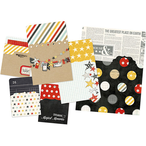 Simple Stories - SNAP Collection - Memorabilia Pockets - Say Cheese