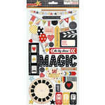 Simple Stories - Say Cheese Collection - Chipboard Stickers