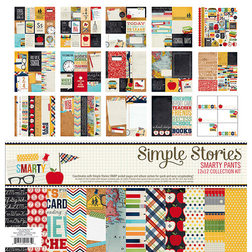 Simple Stories - Smarty Pants Collection - 12 x 12 Collection Kit