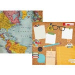 Simple Stories - Smarty Pants Collection - 12 x 12 Double Sided Paper - 2 Cool 4 School
