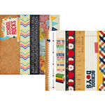 Simple Stories - Smarty Pants Collection - 12 x 12 Double Sided Paper - Border and Title Strip Elements