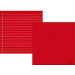 Simple Stories - Smarty Pants Collection - 12 x 12 Double Sided Paper - Red Composition