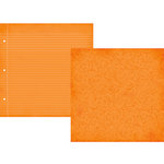 Simple Stories - Smarty Pants Collection - 12 x 12 Double Sided Paper - Orange Composition