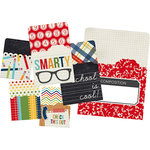 Simple Stories - SNAP Collection - Memorabilia Pockets - Smarty Pants