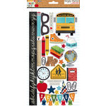 Simple Stories - Smarty Pants Collection - Chipboard Stickers