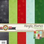 Simple Stories - December Documented Collection - Christmas - 12 x 12 Simple Basics Kit