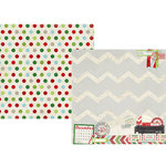 Simple Stories - December Documented Collection - Christmas - 12 x 12 Double Sided Paper - Special Delivery