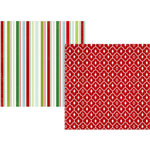 Simple Stories - December Documented Collection - Christmas - 12 x 12 Double Sided Paper - Naughty or Nice