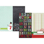 Simple Stories - December Documented Collection - Christmas - 12 x 12 Double Sided Paper - Page Elements
