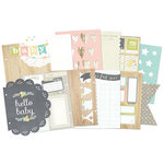 Simple Stories - SNAP Collection - 6 x 8 Journal Insert Pages - Hello Baby