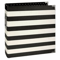 Simple Stories - SNAP Studio Collection - Designer Binder - Black Stripe