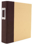 Simple Stories - SNAP Studio Collection - Binder - Brown