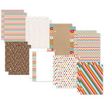 Simple Stories - SNAP Studio Collection - 6 x 8 Journal Insert Pages - Color Fusion