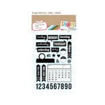 Simple Stories - SNAP Studio Collection - Clear Acrylic Stamps - Daily