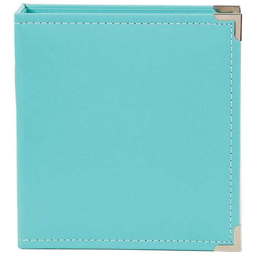 Simple Stories - SNAP Studio Collection - 6 x 8 Faux Leather Album - Teal