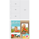 Simple Stories - SNAP Studio Collection - 12 x 12 Page Protectors - Three 4 x 6 One 6 x 12 Inch Photo Sleeves - 10 Pack