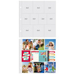 Simple Stories - SNAP Studio Collection - 12 x 12 Page Protectors - Six 4 x 4 Four 3 x 4 Inch Photo Sleeves - 10 Pack