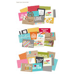 Simple Stories - SNAP Studio Collection - 4 x 6 Cards - Life