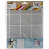 Simple Stories - SNAP Studio Collection - Insta Pocket Pages - 2 x 2 Page Protectors - 10 Pack