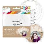 Simple Stories - SNAP Studio Collection - Photo Crops - Circle