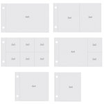 Simple Stories - SNAP Collection - Horizontal Pocket Pages - Variety Pack - 12 Pack