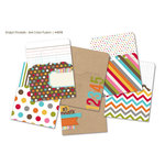 Simple Stories - SNAP Studio Collection - 3 x 4 Memorabilia Pockets - Color Fusion