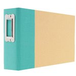 Simple Stories - SNAP Studio Collection - 4 x 6 Horizontal Binder - Teal