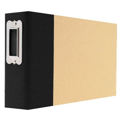 Simple Stories - SNAP Studio Collection - 4 x 6 Horizontal Binder - Black