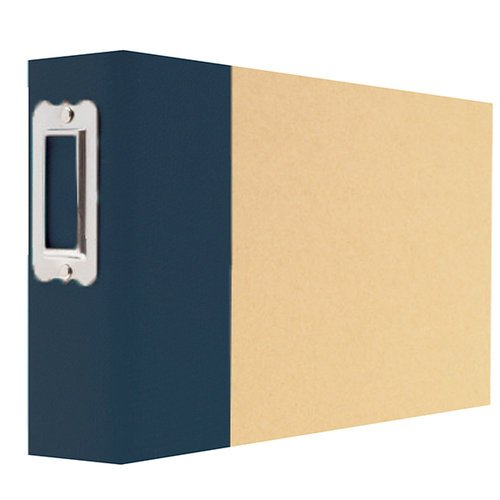 Simple Stories - SNAP Studio Collection - 4 x 6 Horizontal Binder - Navy
