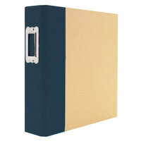 Simple Stories - SNAP Studio Collection - Binder - Navy