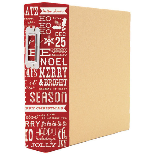 Simple Stories - SNAP Studio Collection - Christmas - Binder - Holiday