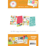Simple Stories - SNAP Collection - Cardstock Stickers - Birthday