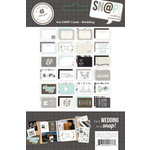 Simple Stories - SNAP Collection - 4 x 6 Cards - Wedding