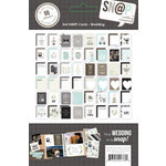 Simple Stories - SNAP Collection - 3 x 4 Cards - Wedding