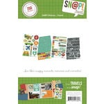 Simple Stories - SNAP Collection - Cardstock Stickers - Travel
