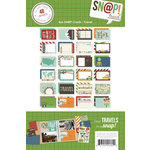 Simple Stories - SNAP Collection - 4 x 6 Cards - Travel