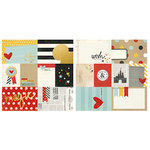 Simple Stories - Say Cheese II Collection - 12 x 12 Double Sided Paper with Foil Accents - 3 x 4 and 4 x 6 Elements
