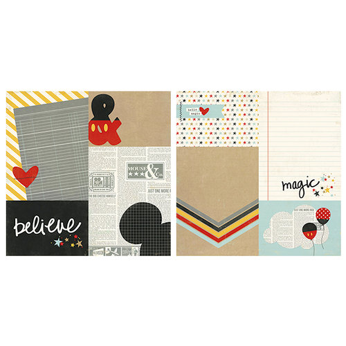 Simple Stories - Say Cheese II Collection - 12 x 12 Double Sided Paper - 4 x 6 and 6 x 8 Elements
