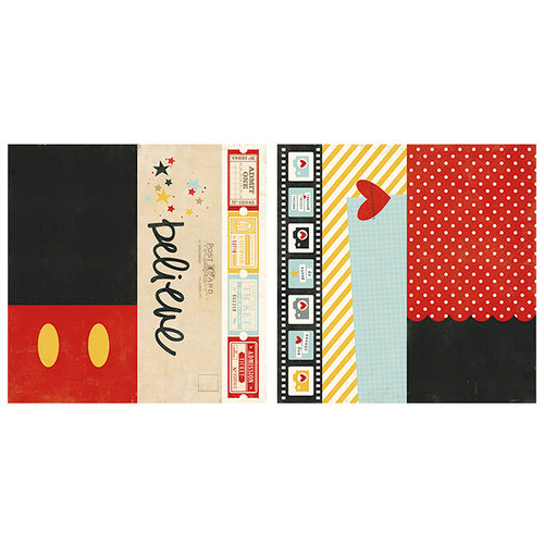Simple Stories - Say Cheese II Collection - 12 x 12 Double Sided Paper - 2 x 12, 4 x 12 and 6 x 12 Elements