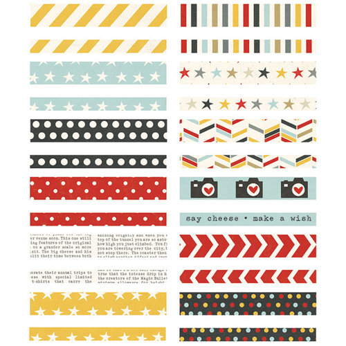 Simple Stories - Say Cheese II Collection - Washi Paper Tape