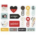 Simple Stories - Say Cheese II Collection - Decorative Clips