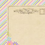Simple Stories - Enchanted Collection - 12 x 12 Double Sided Paper - Happily Ever After