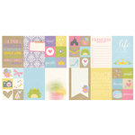 Simple Stories - Enchanted Collection - 12 x 12 Double Sided Paper - 2 x 2 and 4 x 6 Elements