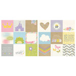 Simple Stories - Enchanted Collection - 12 x 12 Double Sided Paper - 4 x 4 Elements