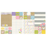 Simple Stories - Enchanted Collection - 12 x 12 Double Sided Paper - 2 x 2 and 6 x 8 Elements